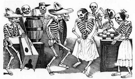 Ricchi o poveri, potenti o sfruttati, non siamo nient'altro che ossa che camminano.