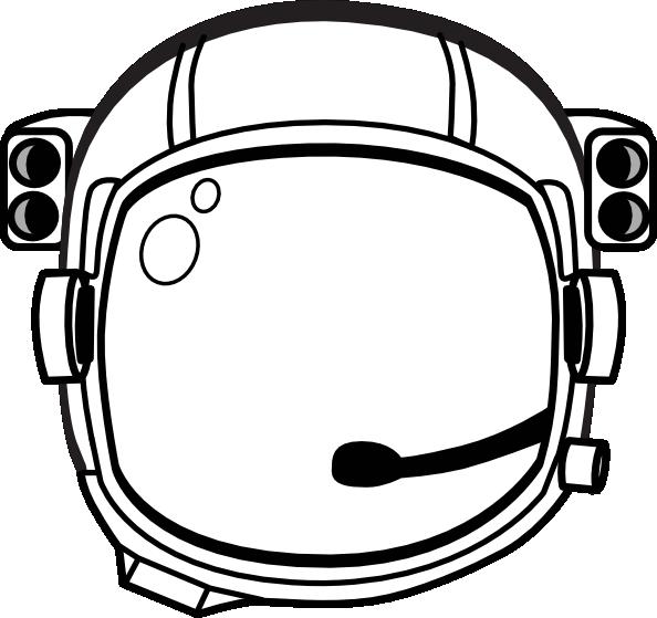 astronaut Hat Printable Astronaut S Helmet clip art vector
