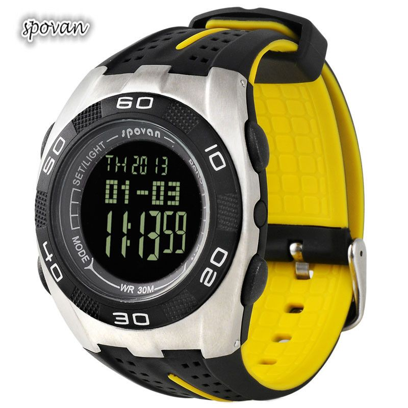 Find More Wristwatches Information about Fashional Multifunctional Outdoor Waterproof Sports Heart Rate Watch with Chronograph Watches Luxury Brand,High Quality watch nurse,China sport digital watch Suppliers, Cheap watch luxury from Knot cabin on Aliexpress.com