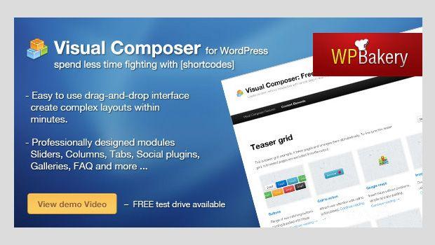 visual composer - http://karimhossenbux.com/themes/?theme=Humble ...