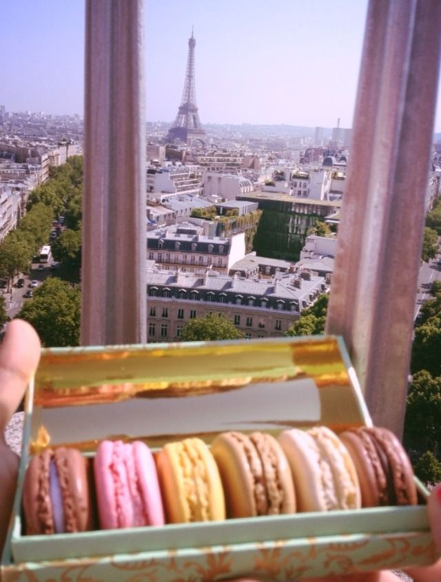 Macarons and Paris .... Yes please !!!!