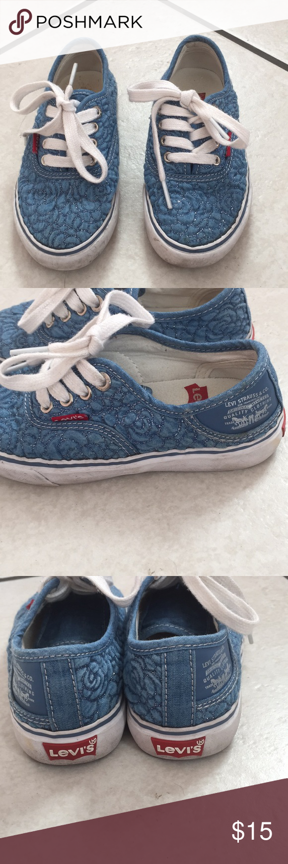 3dcaeec59b8 Levis sneakers(girls) Used in very good conditions Levi s Shoes Sneakers