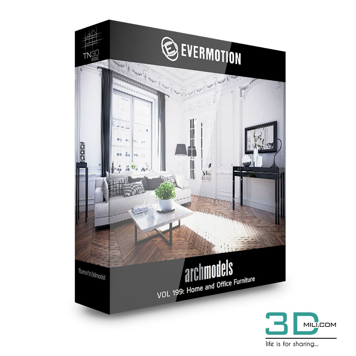 Evermotion Archmodels Vol 199: Home And Office Furniture