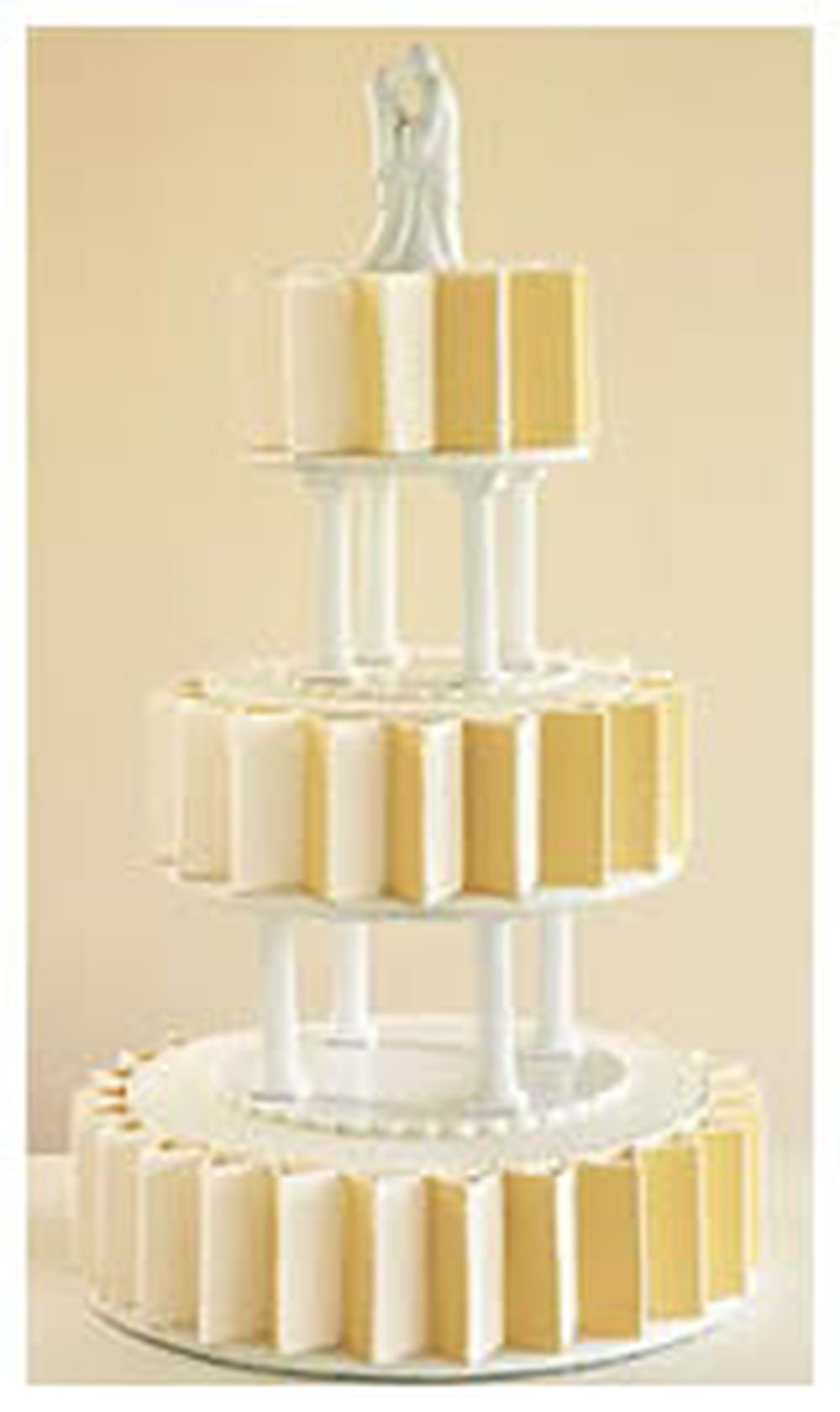 Use separator plates and pillars. Most dramatic method of tiered cake assembly-two  sc 1 st  Pinterest & Use separator plates and pillars. Most dramatic method of tiered ...
