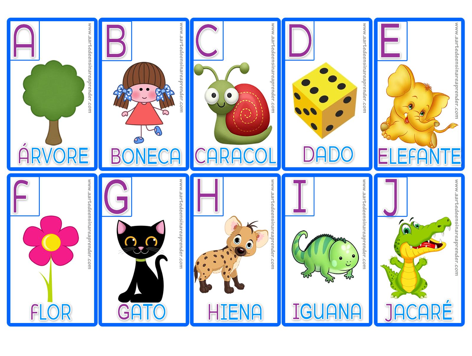 Fabuloso Jogo da Memória - Alfabeto | Alfabeto ilustrado, Jogos pedagogicos  QJ02