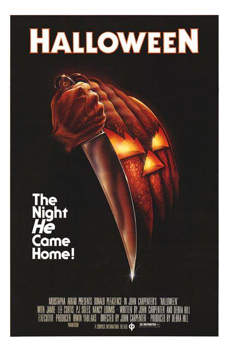 la moitié dessins attrayants nouveau design Halloween (1978): My favorite horror film of all time. A ...