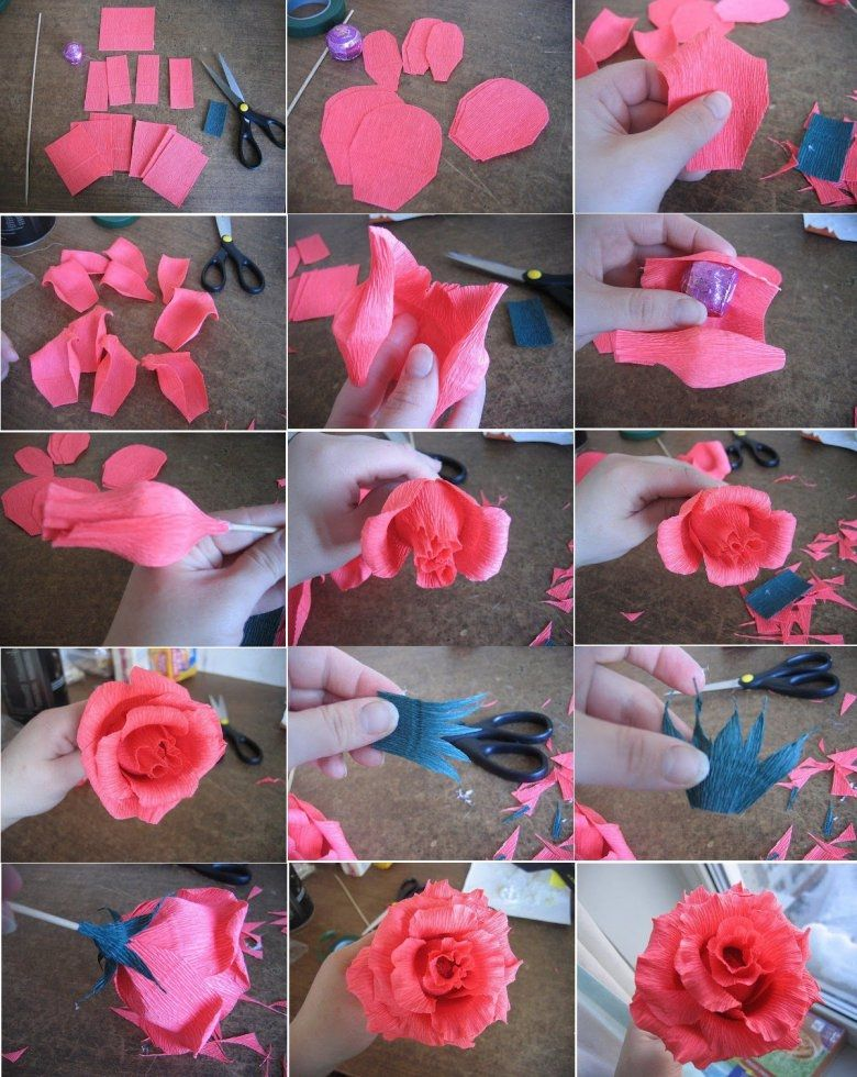 Diy paper tutorial pictures photos and images for for Easy diy arts and crafts