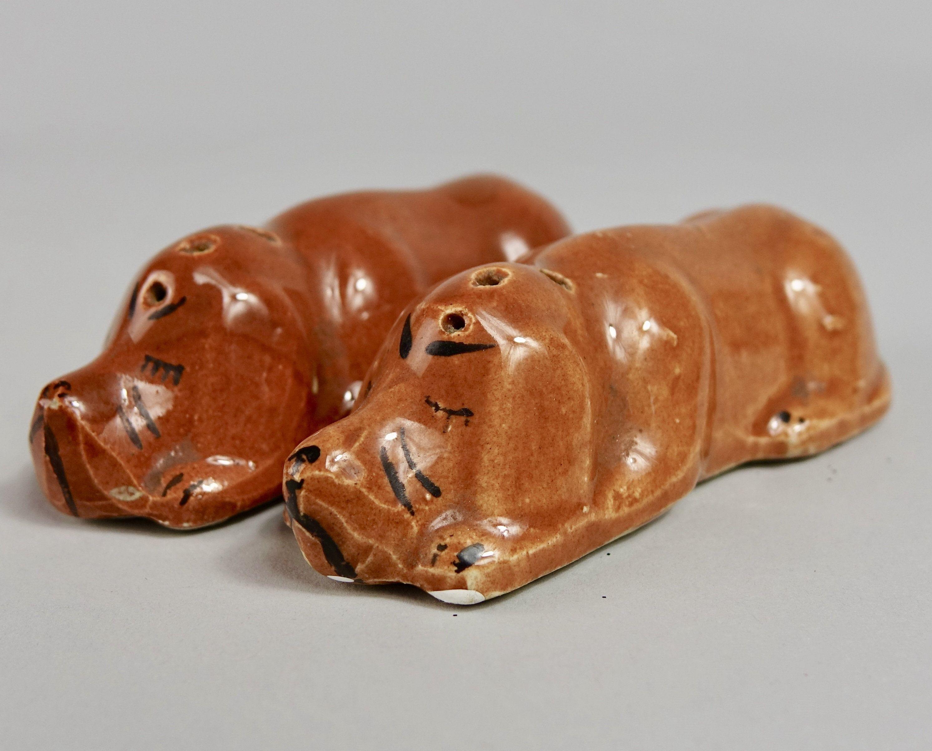 Sleeping Dog Salt and Pepper Shakers Sleeping dogs