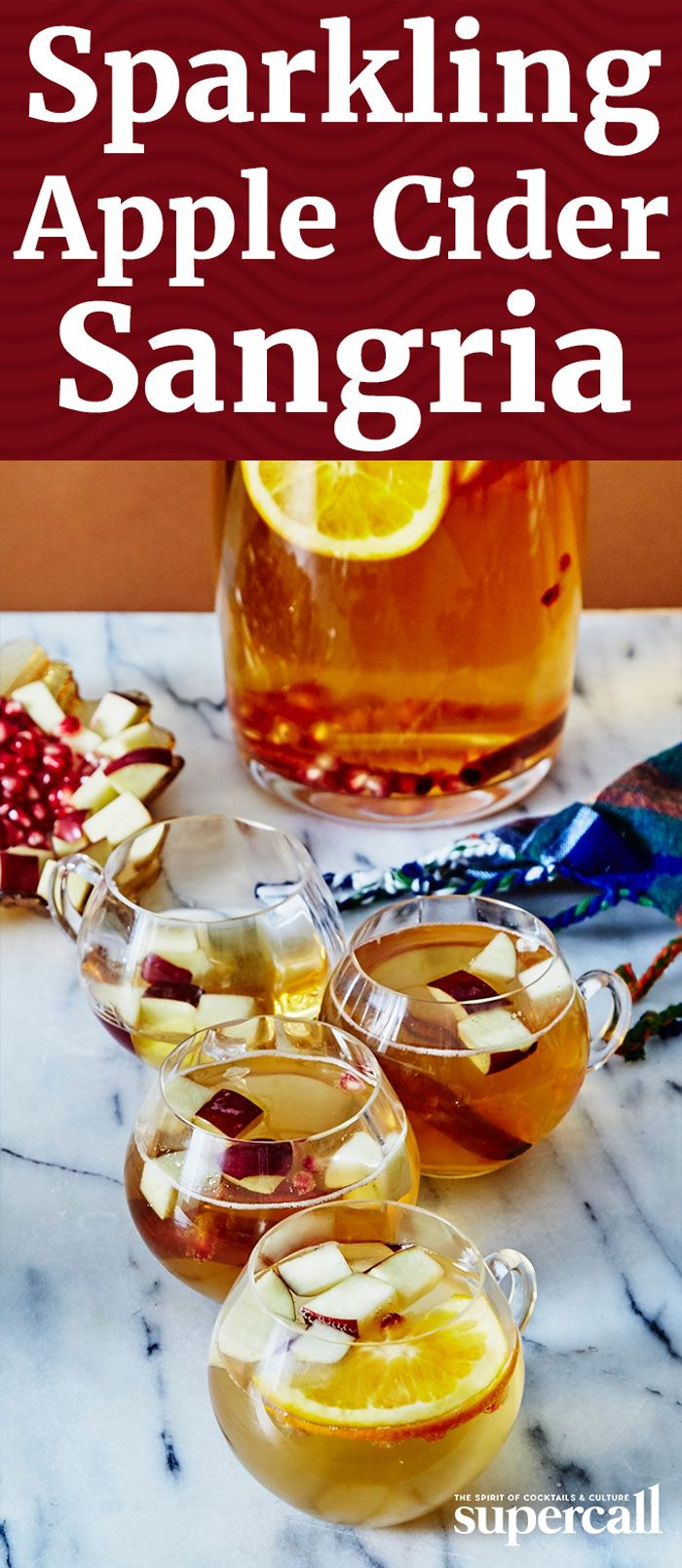 Apple Cider Sangria How To Make The Best Sparkling Apple Cider Sangria Recipe Apple Cider Sangria Cider Sangria Easy Drink Recipes