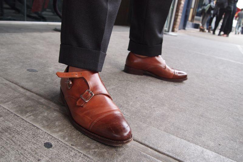 Scott Schuman aka The Sartorialist's Monk Straps