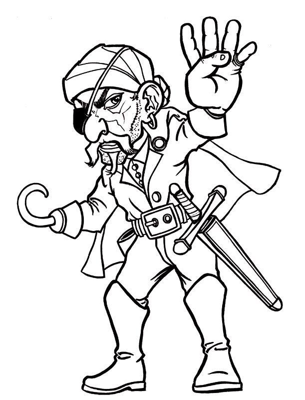 coloriage coloriage derecherchepiratespeindre - Coloriage De Pirate