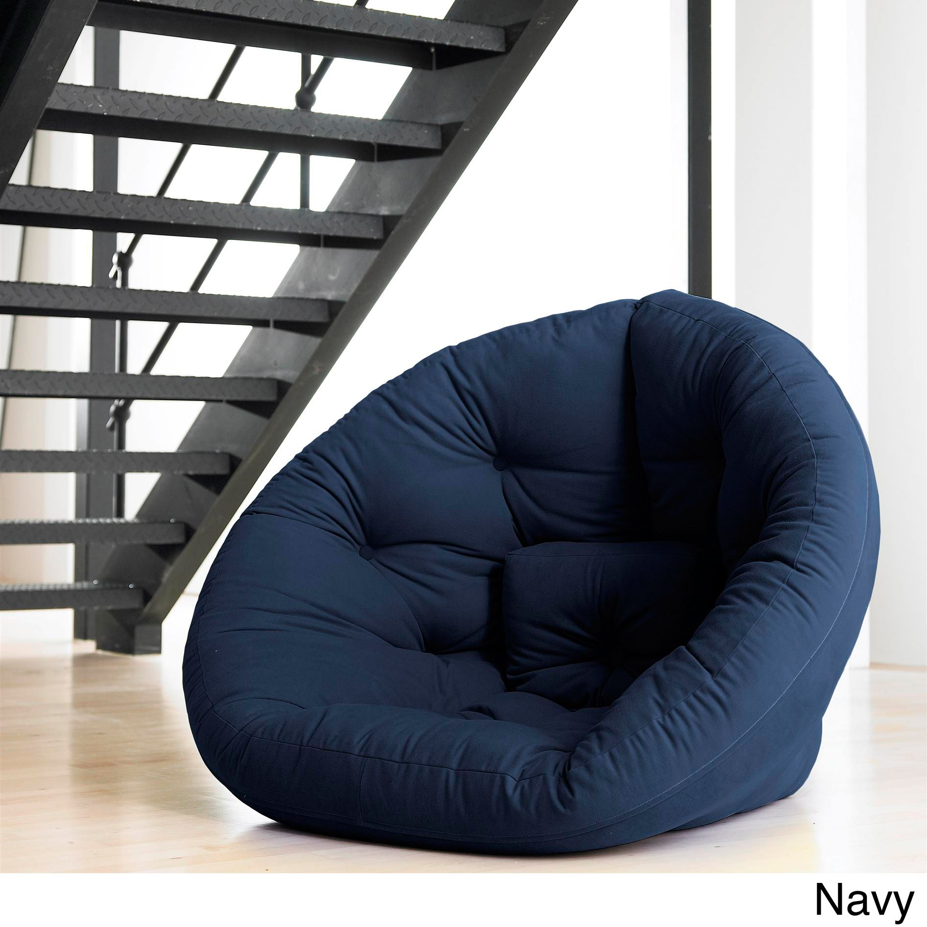 Groovy Fresh Futon Nest Convertible Futon Chair Bed Overstock Caraccident5 Cool Chair Designs And Ideas Caraccident5Info