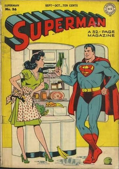 First cover after wwii unlike the seriousness of the war covers did superman marry lois lane or blondie bumstead thecheapjerseys Gallery