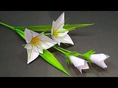 Photo of DIY Flower: Easy & Beautiful Paper Stick Flower Homemade Idea!! Flower | Jarine's Crafty Creation