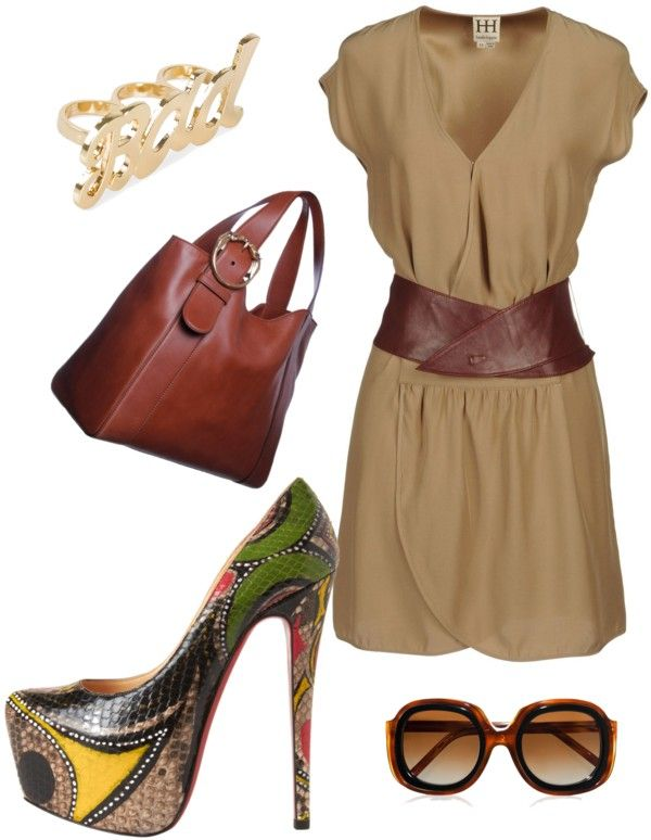 """""""Purse and shoes to die for"""" by ann-oakwood ❤ liked on Polyvore"""
