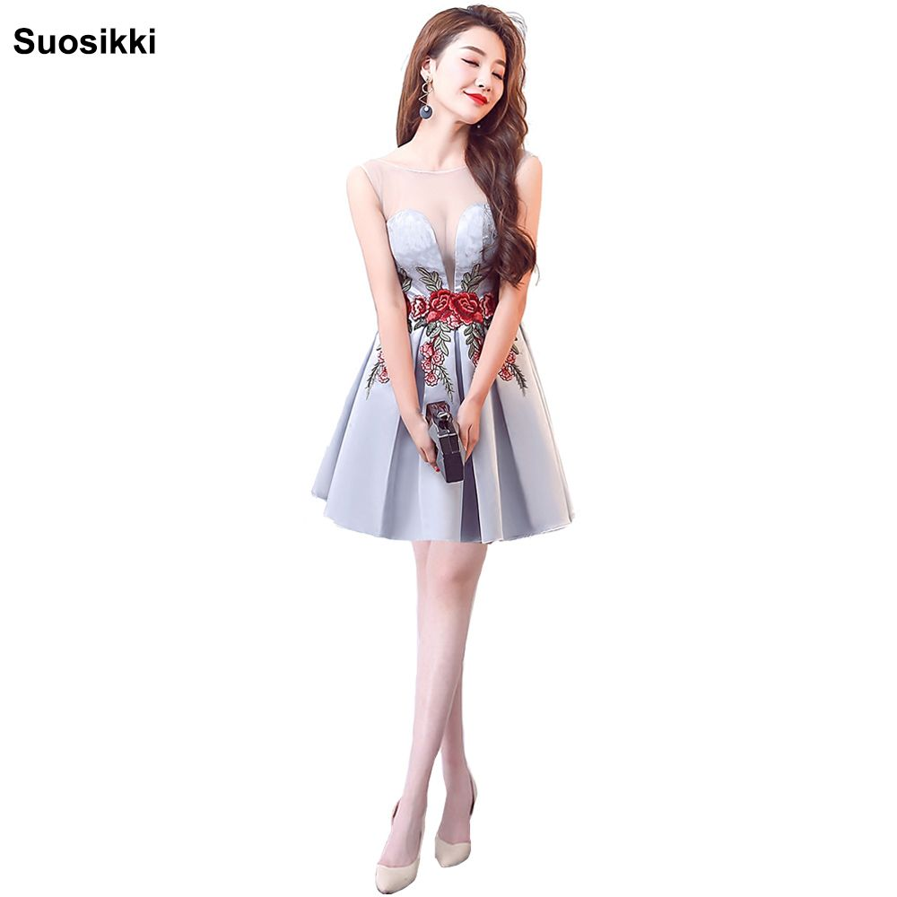 Click to buy ucuc short prom dresses sweetheart knee length girls