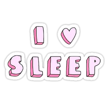 I Love Sleep Sticker By Lifeisgood1 In 2021 Computer Sticker Phone Stickers Tumblr Stickers