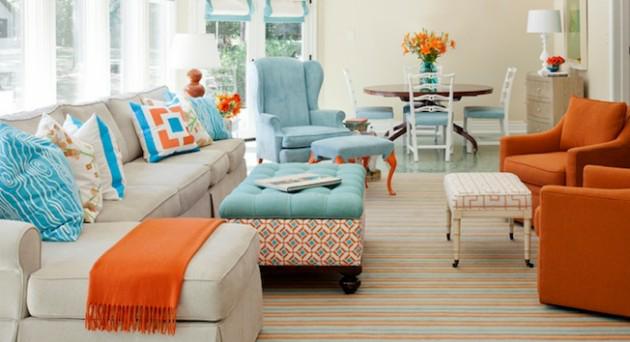 Chegou o VERÃO! Esta estação do ano pede tons alegres e vibrantes na decoração. Cores como o laranja, verde, vermelho e azul são muito bem-vindas para deixar os ambientes ainda mais bonitos, esbanjando charme e muito bom gosto!