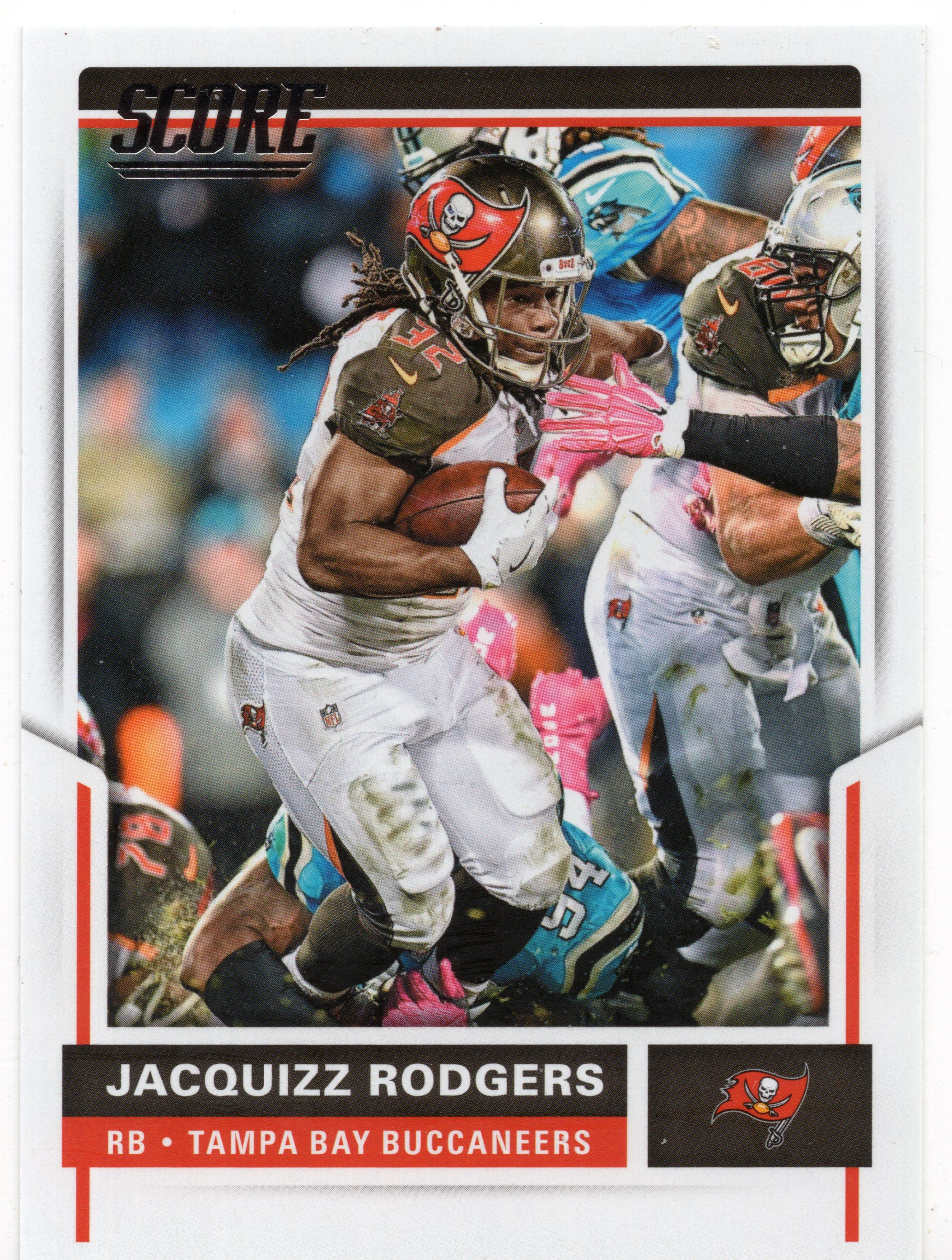 2017 Score Football 299 Jacquizz Rodgers Tampa Bay Buccaneers Fb65 In 2020 Football Trading Cards Tampa Bay Buccaneers Football