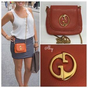 d51887ad47a1ca Gucci 1973 Leather Chain Shoulder Bag (Mini) | Style Log | Chain ...