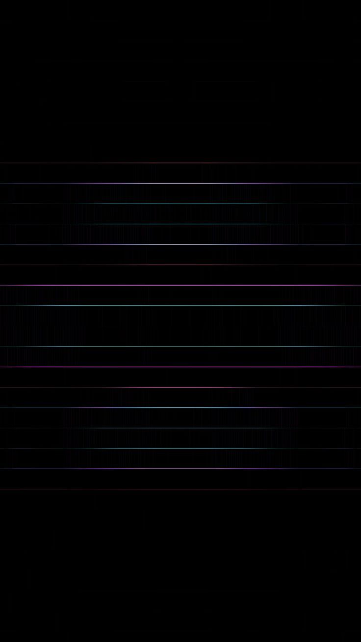 Neon Stripes On Black Wallpaper If After Running Pitch Black Wallpaper Your Lock Screen Is Still Not Blac Black Wallpaper Samsung Wallpaper Iphone Wallpaper