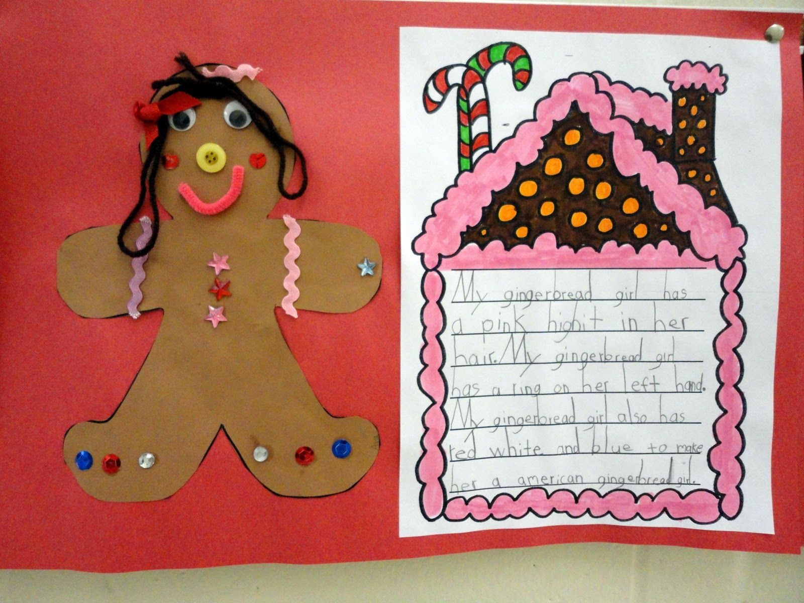 Gingerbread Unit Activities For First Grade With Images