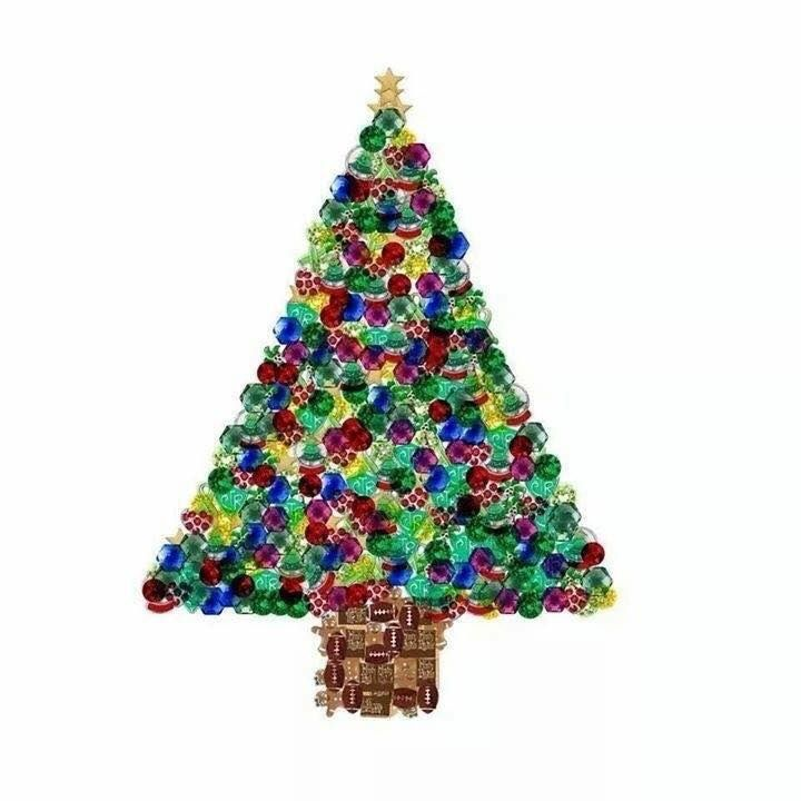 Guess How Many Charms Answer Holiday Christmas Tree 381