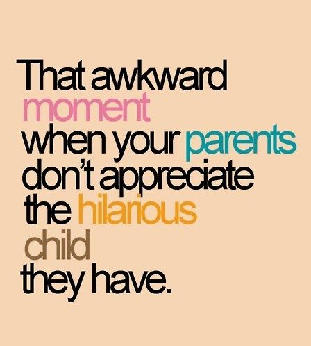 This so explains moments from my childhood!