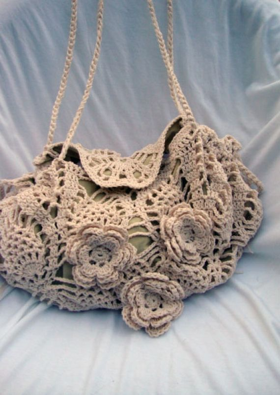 Bolso al crochet - Bolsos - Bolsos y Carteras - 9568