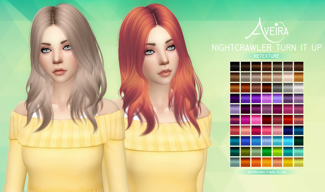 Unique Hair Color Mesh