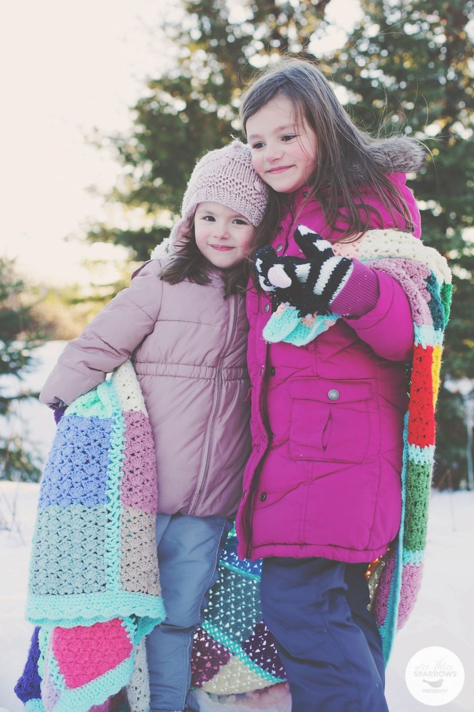 My Girls, Outdoor Winter Session, Snow Session, Wee Three Sparrows Photography, Toronto Photographer, Toronto Lifestyle Photographer, Toronto Family Photographer #torontophotographer #lifestylephotography #wintersession
