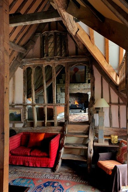 Photo of 19 cosy, rustic interiors for chilly days