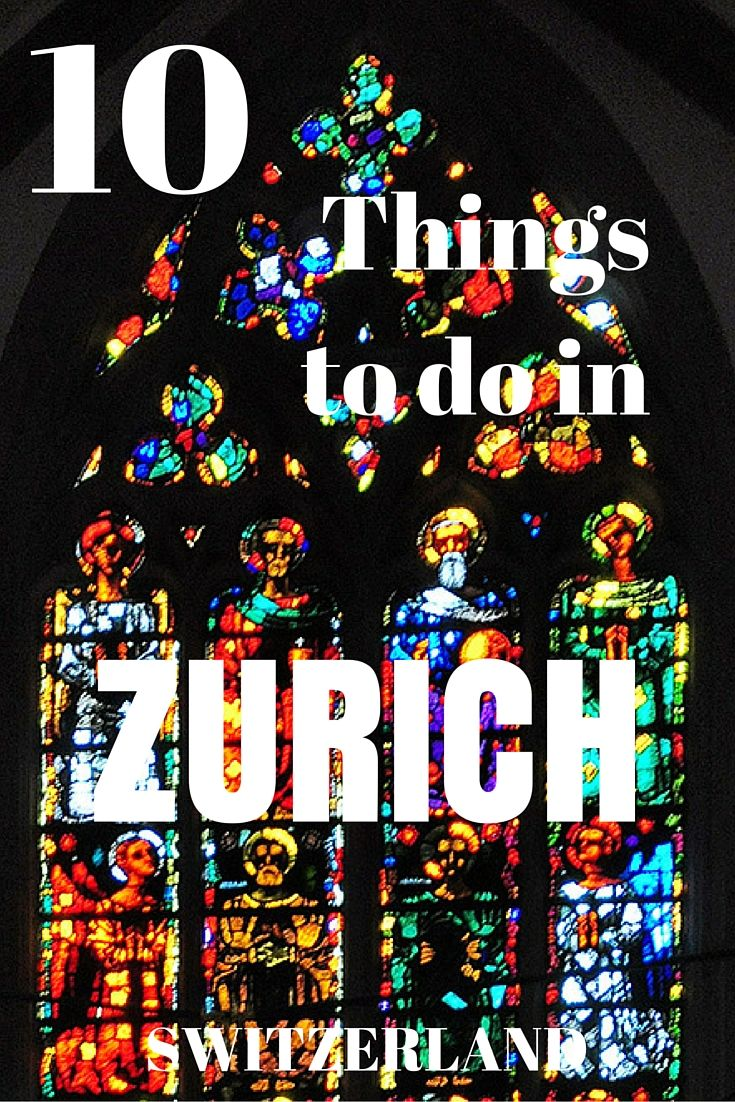 """Repin to your own inspiration board.""Top 10 Things to do in Zurich Switzerland. Zurich in Switzerland is is chic and cool, historical and interesting."