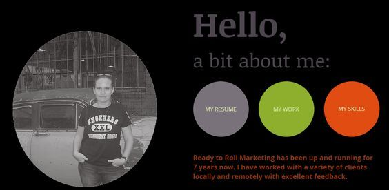Check out my new personal resume site on Wix Freelance Social - resume site
