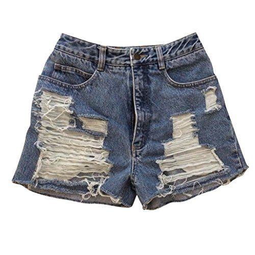 Summer Sky Low Rise Distressed Denim Cutoff Shorts Gap Jeans ...