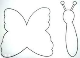 Resultado de imagem para borboletas de feltro