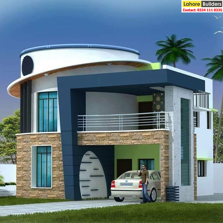 Front Elevation Designs 20 24 25 30 35 40 45 50 Feet Front For 3 4 5 6 7 8 10 12 Marla 1 Kanal And Facade Design House Exterior Bungalow House Design