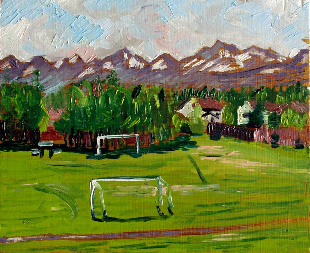 Color art anchorage - Anchorage Soccer Field Painting Real Art Is Better