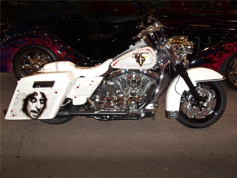 Custom Bagger For Sale Craigslist 2004 Harley Davidson Road King Lot 1303 2 Barrett Jackson Auction Motosikletler