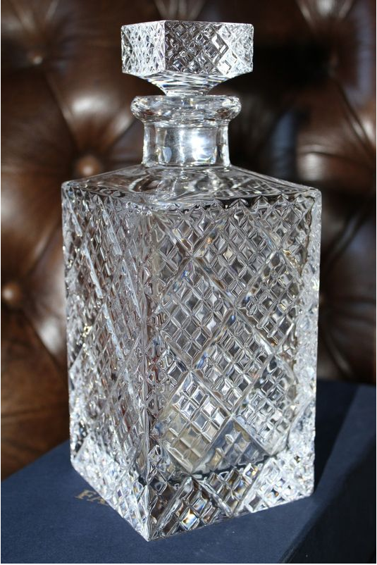 Faberge Crystal Decanter Waterford Crystal And Other Leaded Glass Pinterest Crystal