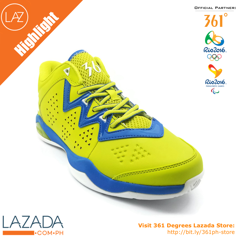Check out 361 Degrees MB ALL-STAR basketball shoes.