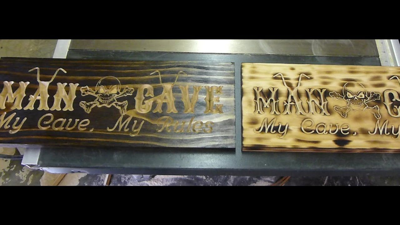 Hunters Man Cave Signs : Man cave sign hunting theme youtube cnc projects pinterest