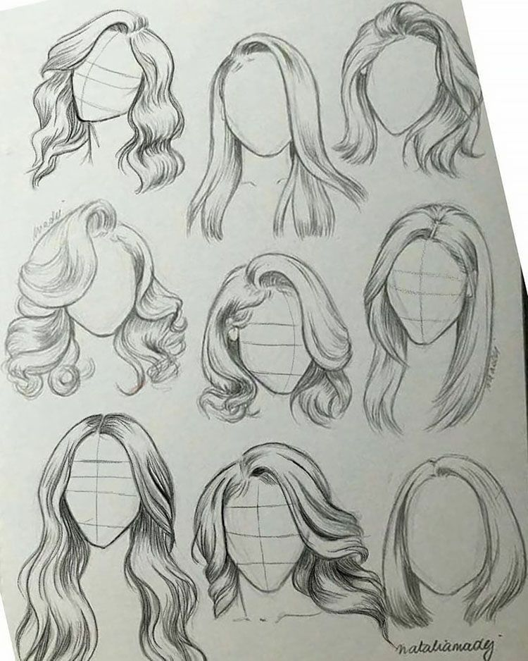 22 Girl Hair Drawing Ideas And References Beautiful Dawn Designs Girl Hair Drawing Architecture Drawing Art Pencil Art Drawings