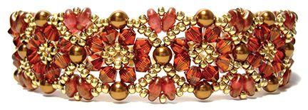 Batik Bracelet and Earrings