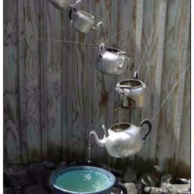 Fun Teapot Kettle Waterfall Fountains Fountain