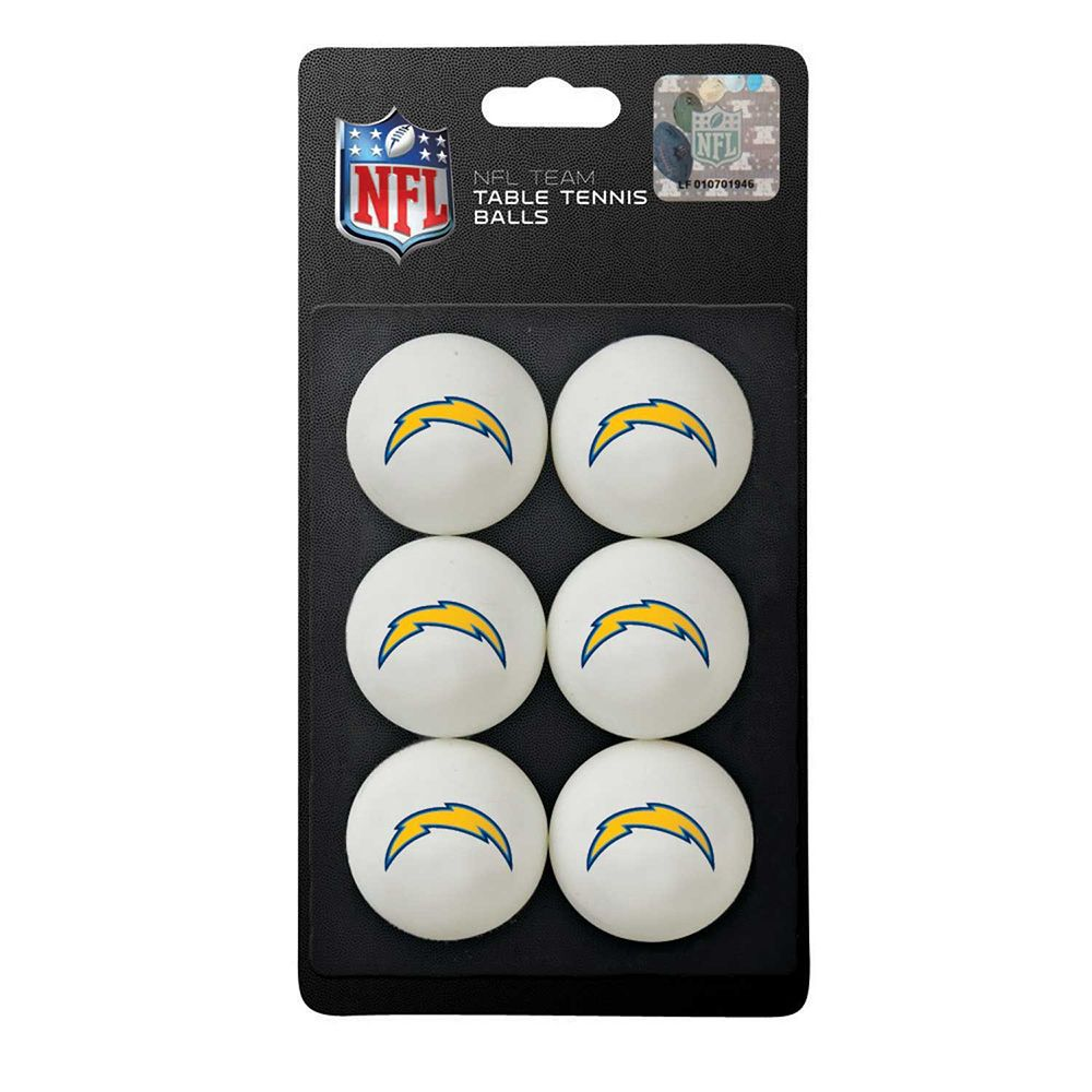 San Diego Chargers NFL Table Tennis Balls 1