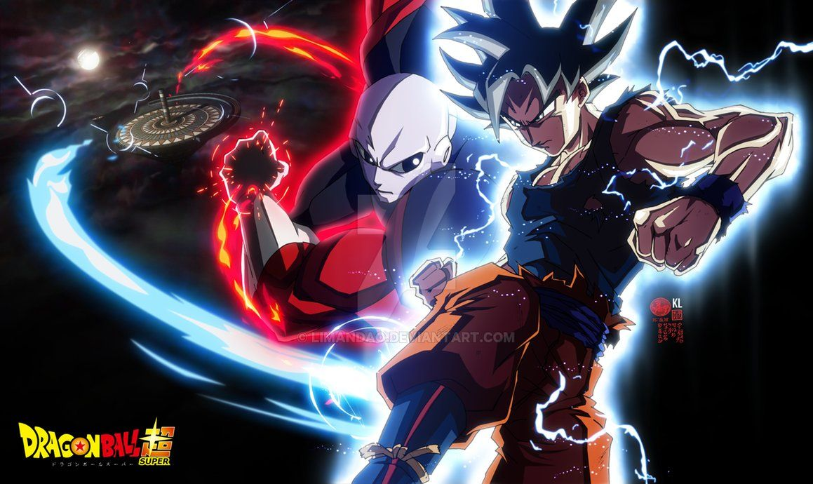 Goku Ultra Instinct Vs Jiren By Limandao Dragon Ball Super Goku Goku Vs Jiren Dragon Ball Wallpapers