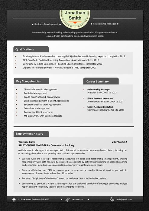 Sample Resumes - Professional Resume Templates and CV Templates - browse resumes