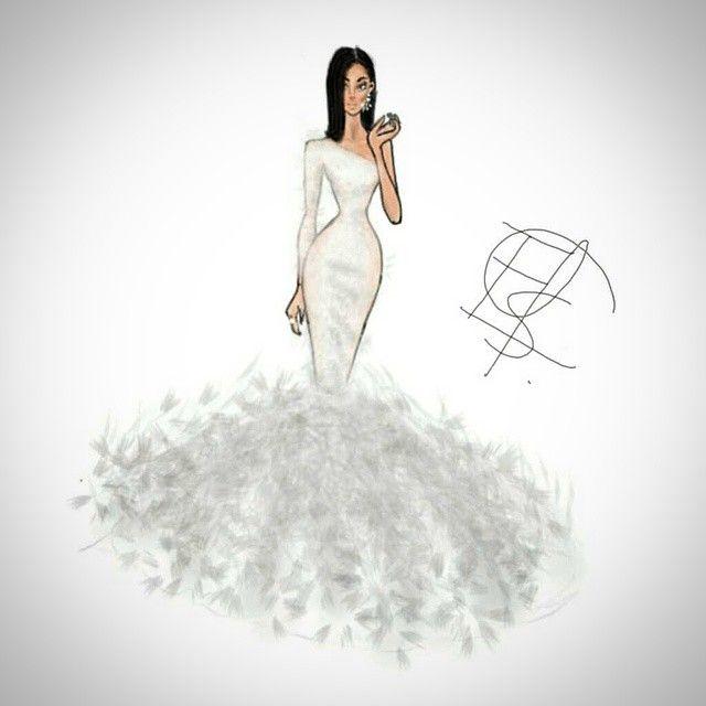 #infinitepainter #skecth #fashionillustration  #glam #moda. #wedding