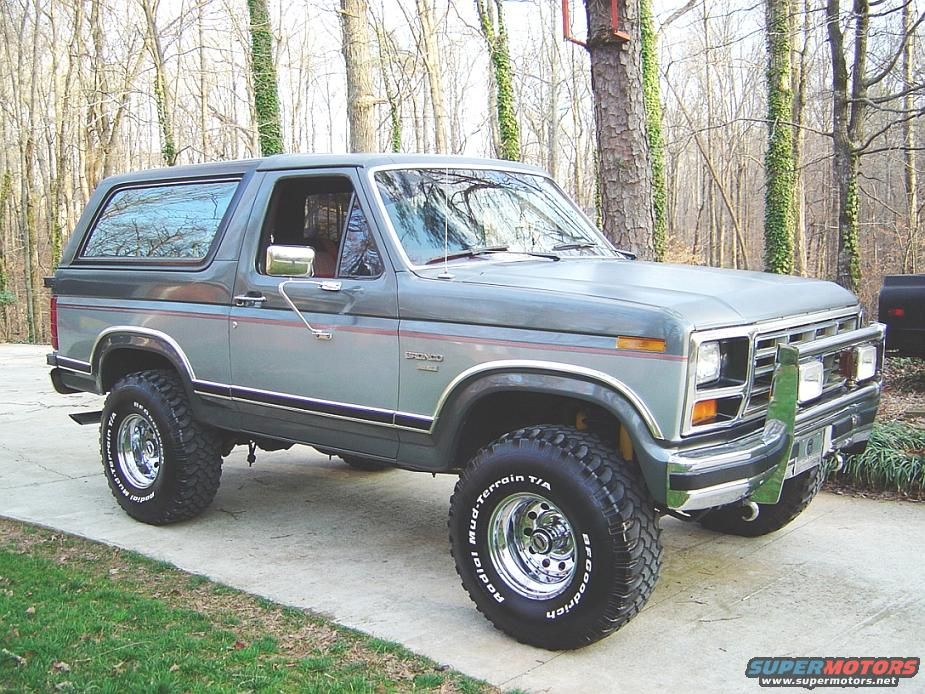 Lx And Lx Wagon 1986 Ford Bronco Not Bronco 2 Ford Bronco Old